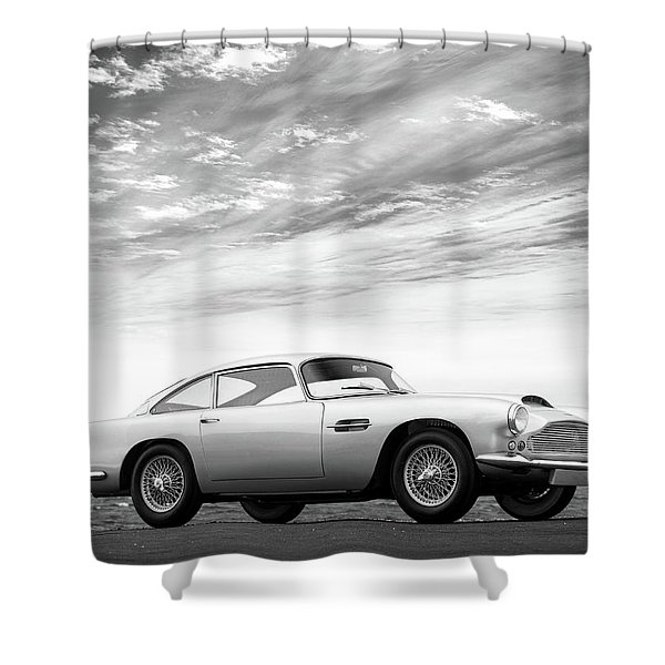 The Aston Db4 1959 Shower Curtain