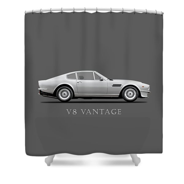 The Aston V8 Vantage Shower Curtain