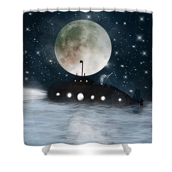 The Astrologer Shower Curtain