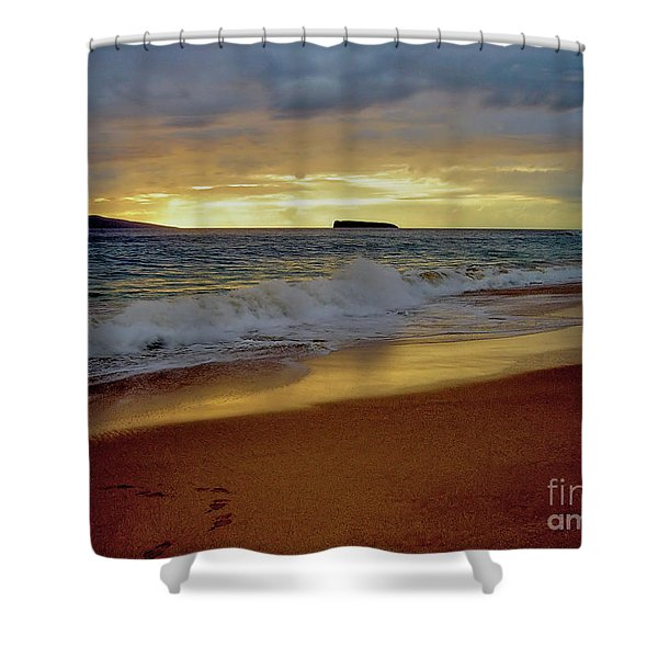 The Aura Of Molokini Shower Curtain