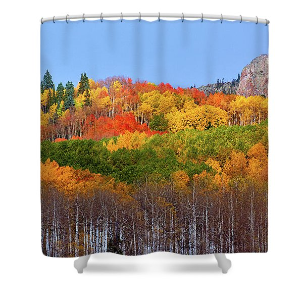 The Autumn Blanket Shower Curtain