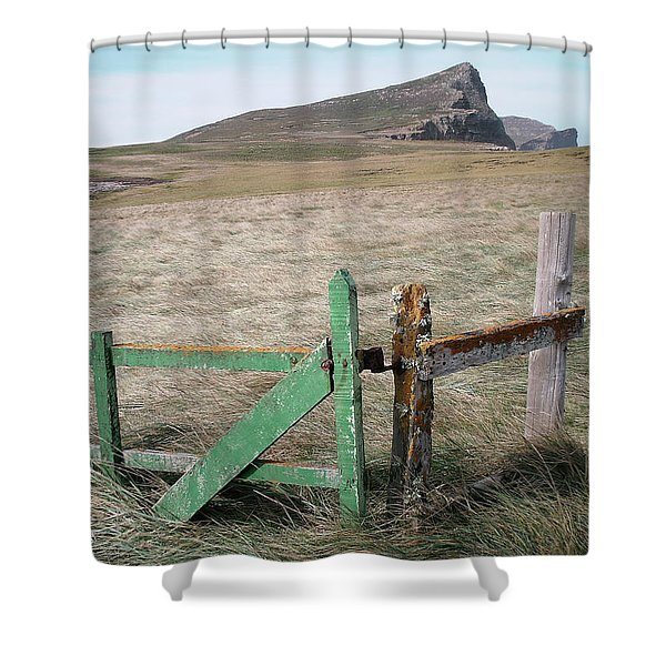 The Back 1000 Shower Curtain