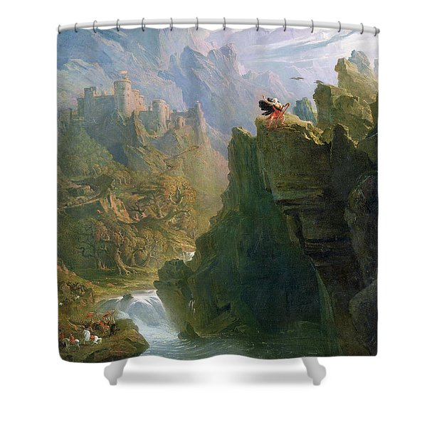 The Bard Shower Curtain