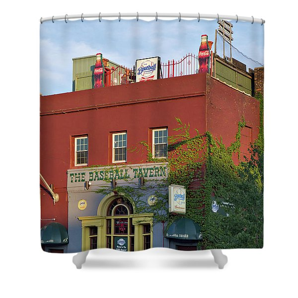 The Baseball Tavern Boston Massachusetts  -30948 Shower Curtain