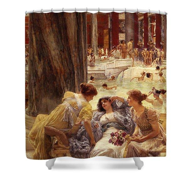 The Baths Of Caracalla Shower Curtain