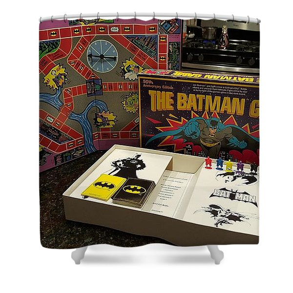 The Batman Game Shower Curtain
