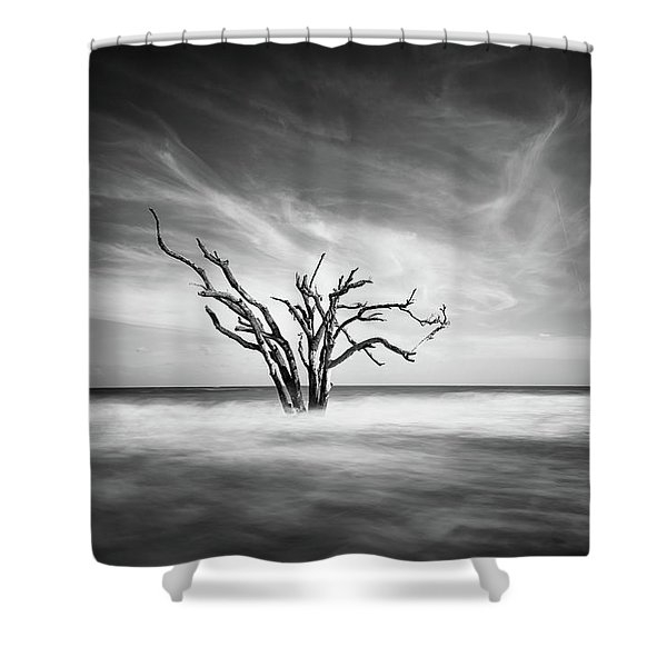 The Bay Shower Curtain