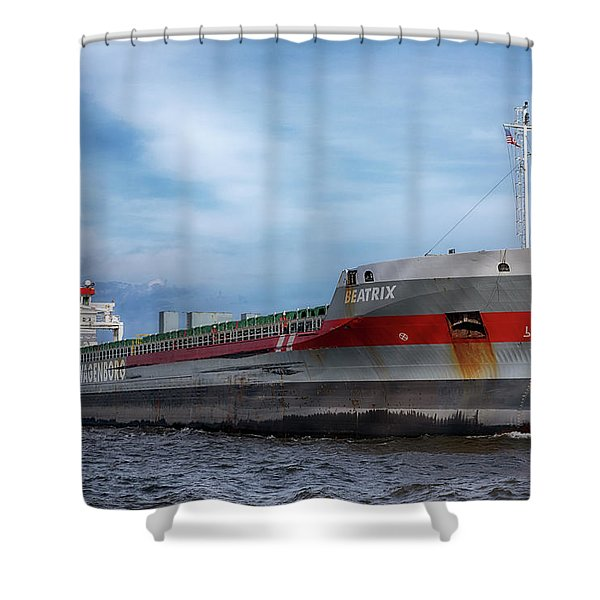 The Beatrix Shower Curtain