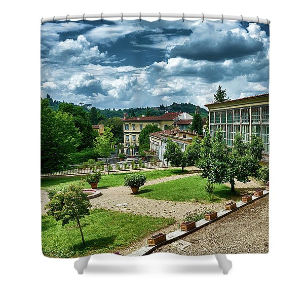 The Beauty Of The Boboli Gardens Shower Curtain