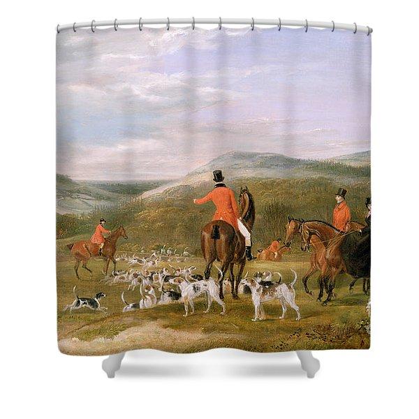 The Berkeley Hunt Shower Curtain