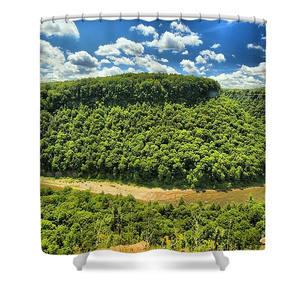 The Big Bend Shower Curtain