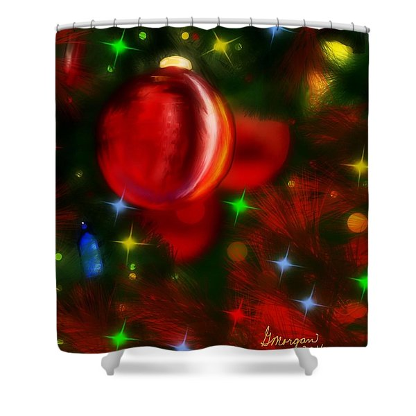 The Big Red Shower Curtain
