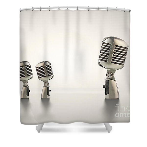 The Big Talk Shower Curtain