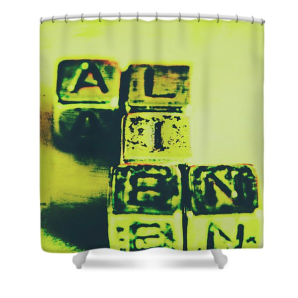 The Biggest Lie Ever Told Shower Curtain