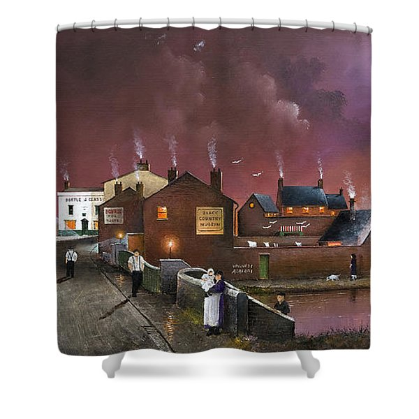The Black Country Museum Shower Curtain