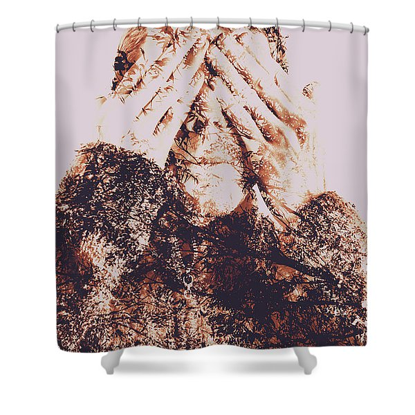 The Bliss Of Ignorance Shower Curtain