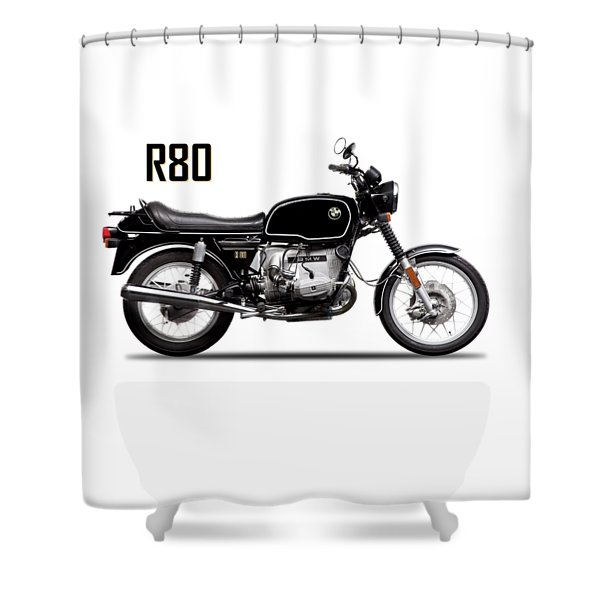 The R80 Motorcycle 1978 Shower Curtain