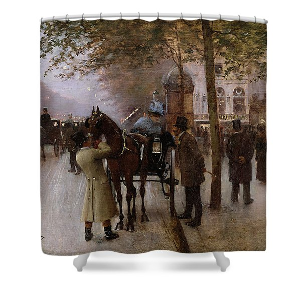 The Boulevards Shower Curtain