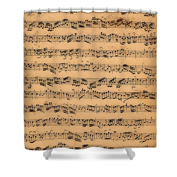 The Brandenburger Concertos Shower Curtain