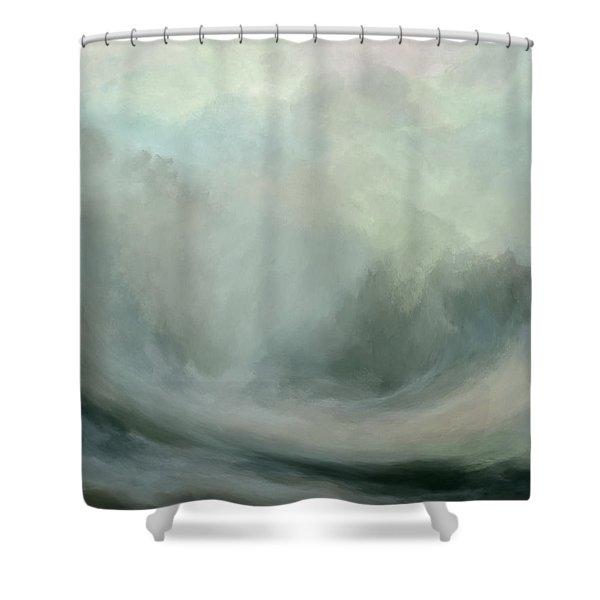 The Break Shower Curtain