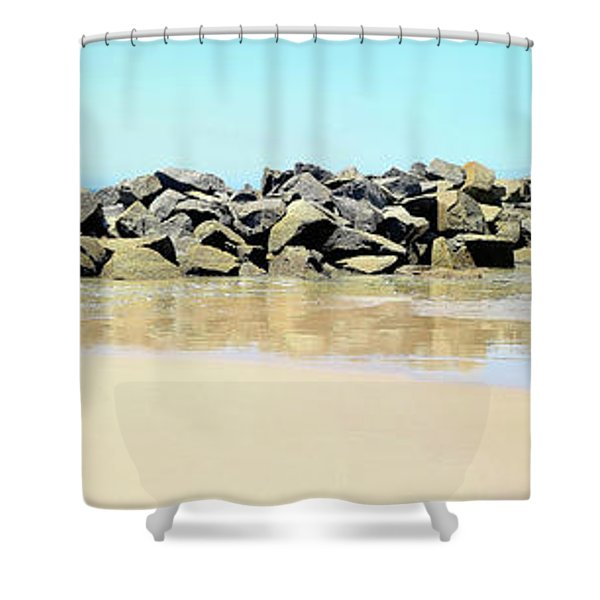 The Breakwater Shower Curtain