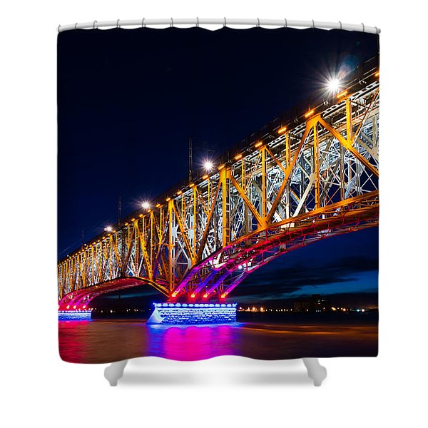 The Bridge Of Light Shower Curtain