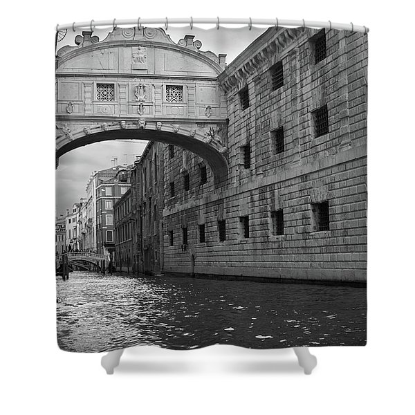 The Bridge Of Sighs, Venice, Italy Shower Curtain