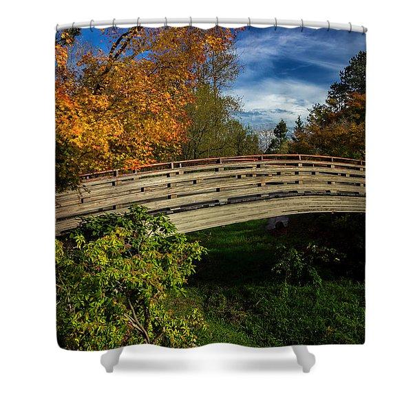 The Bridge To The Garden Shower Curtain
