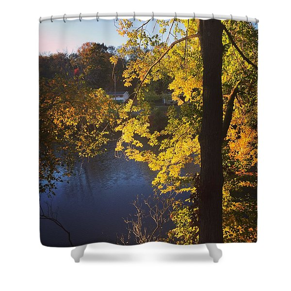 The Brilliance Of Nature Leaves Me Speechless Shower Curtain