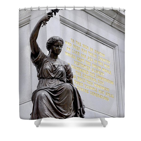The Bringer Of Peace Shower Curtain