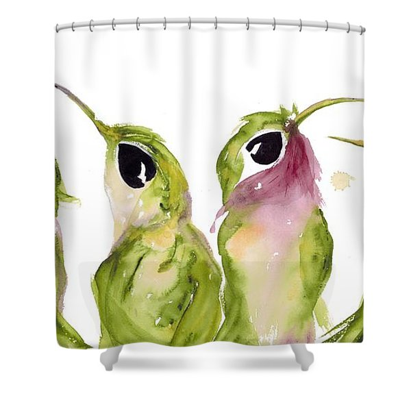 The Broad-tails Shower Curtain