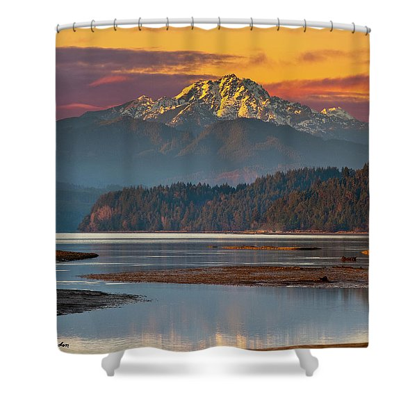 The Brothers From Hood Canal Shower Curtain
