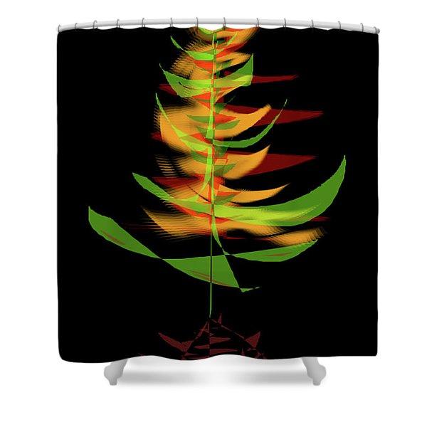 The Burning Bush Shower Curtain