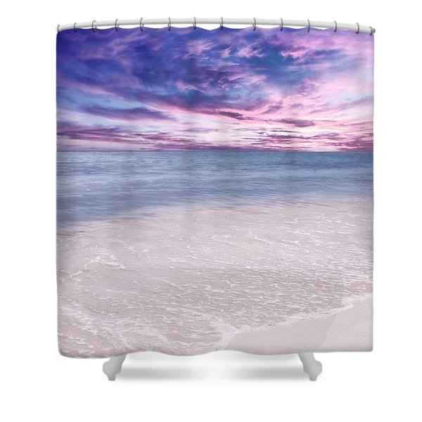 The Calm Before The Storm Shower Curtain