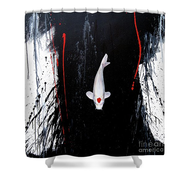 The Calm Shower Curtain
