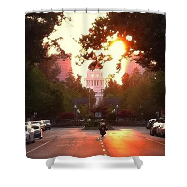 The Capitol In #sacramento #california Shower Curtain