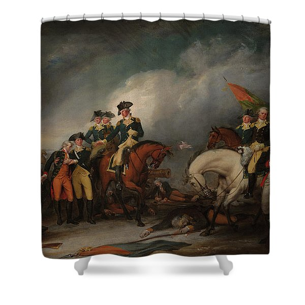 The Capture Of The Hessians At Trenton Dec 26, 1776 Shower Curtain