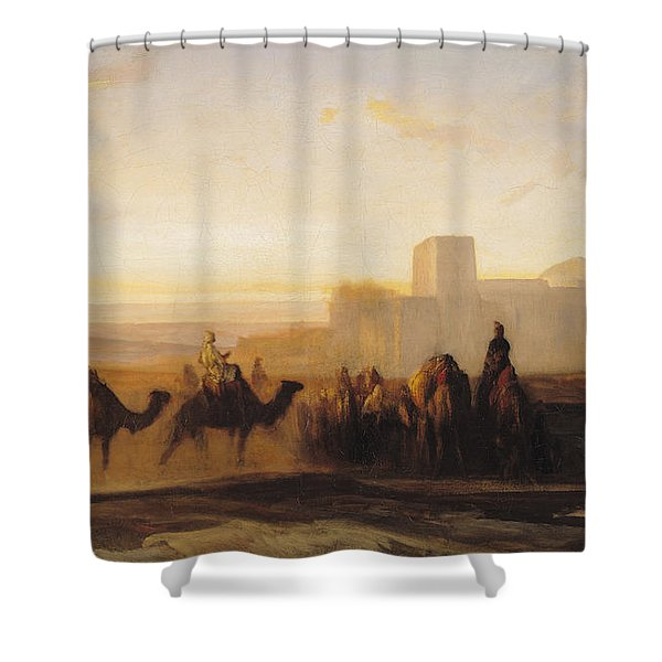 The Caravan Shower Curtain
