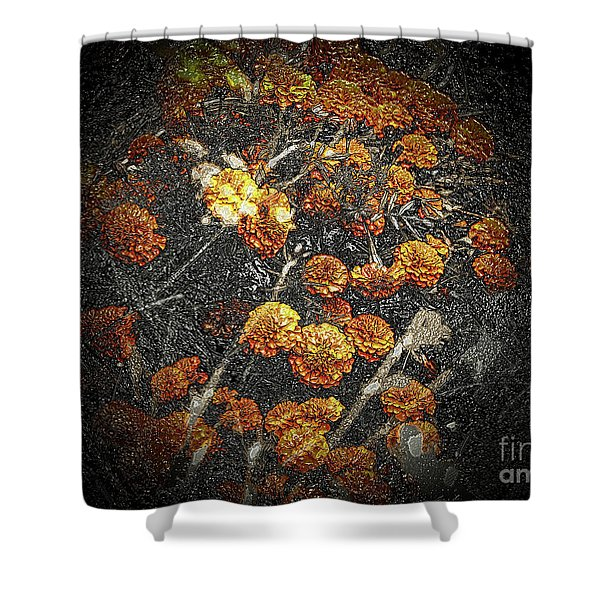 The Carved Bush Shower Curtain