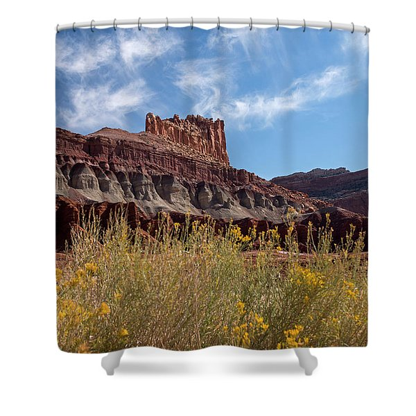 The Castle Capital Reef Shower Curtain