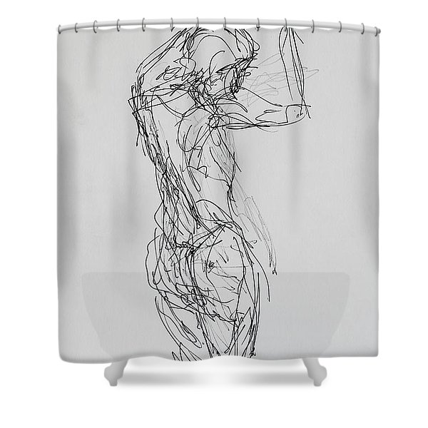 The Celebration Of Dance 3903 Shower Curtain