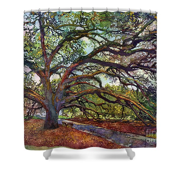 The Century Oak Shower Curtain