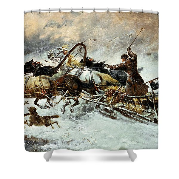 The Chase Shower Curtain
