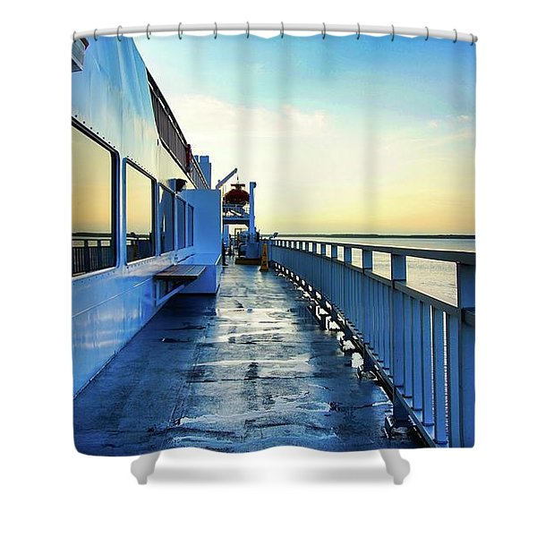 The Chi-cheemaun Shower Curtain