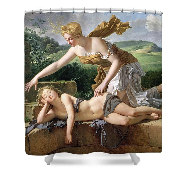 The Child Of Fortune Shower Curtain