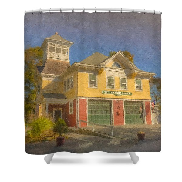 The Children's Museum Of Easton Shower Curtain