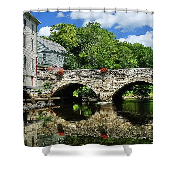 The Choate Bridge Shower Curtain