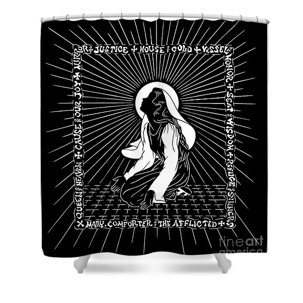 The Chosen One - Dptco Shower Curtain