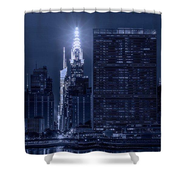 The Chrysler Star Shower Curtain