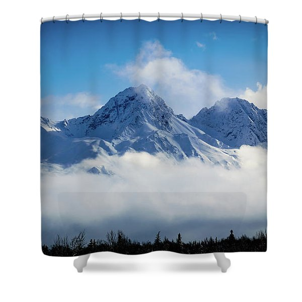 The Chugachs Shower Curtain